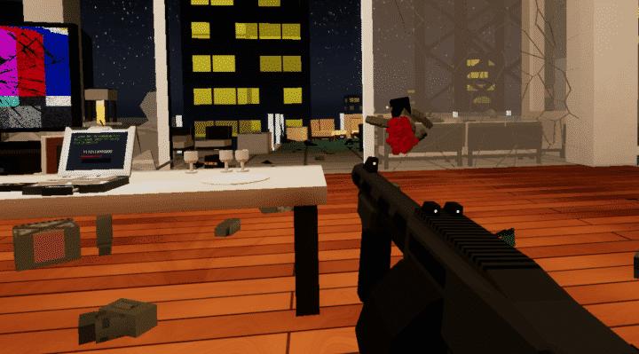 Out of Ammo Vertigo 720x399 - [Review] Out Of Ammo (PSVR)