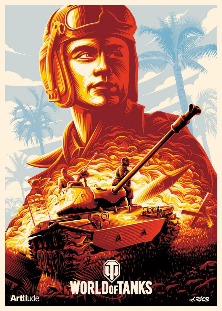 WoTC 4th Anniversary AlexeyRico ARTtitude Artwork - World of Tanks Konsole feiert seinen vierten Geburtstag mit über 14 Millionen Spielern!