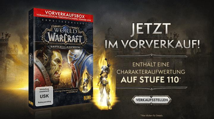 YKT2FOPZZM8W1520597417094 720x399 - World of Warcraft: Battle for Azeroth: Vorverkauf