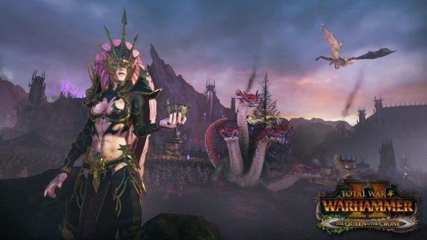crone 4k final1 WITH LOGO 1526469372 622x350 - Total War: Warhammer II: Die Königin & das Weibsbild machen sich bereit