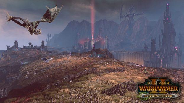 swd khaine 04k final WITH LOGO 1526469375 622x350 - Total War: Warhammer II: Die Königin & das Weibsbild machen sich bereit