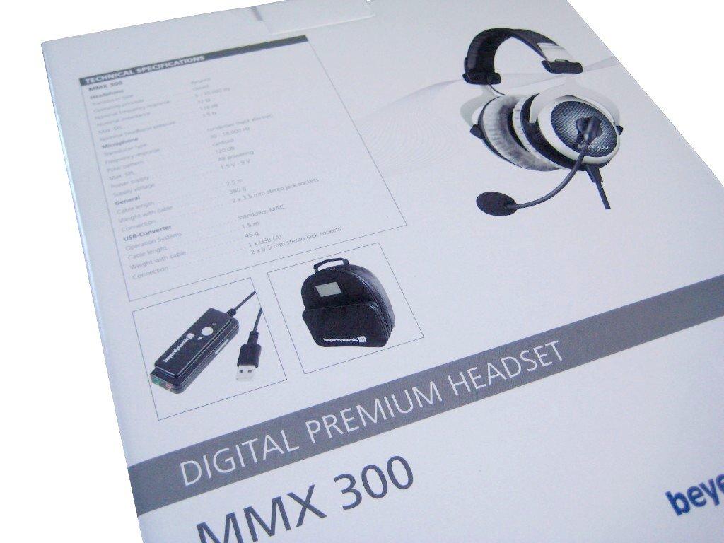 beyerdynamic MMX 300