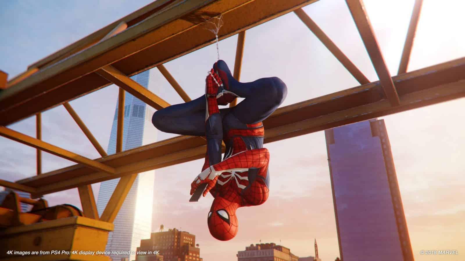 Marvel's Spider-Man Test
